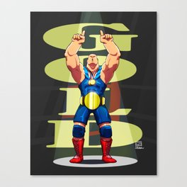 Olympic Gold Canvas Print