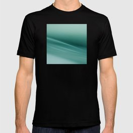 Fantasy Space Lines 1 Turquoise T-shirt