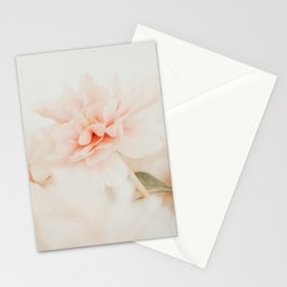 Burnt Orange Peony Stationery Cards
