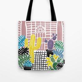 Cacti & Succulent Greenhouse Tote Bag