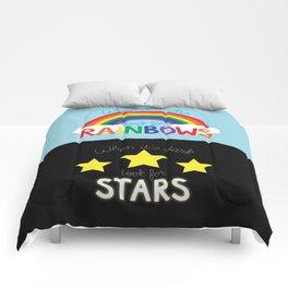 Rainbows & Stars Comforters