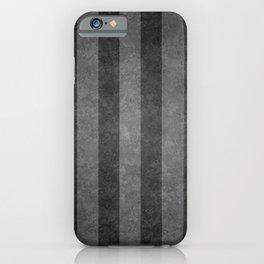 Grey Stripes iPhone Case