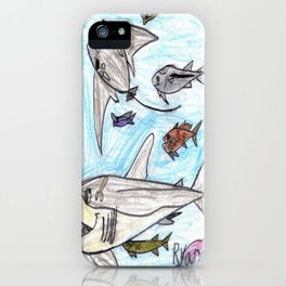 Playful Ray iPhone Case