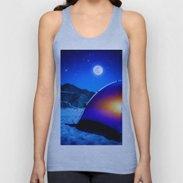 Cool Camping Unisex Tank Top