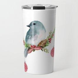 Christmas Bird - Winterland Travel Mug
