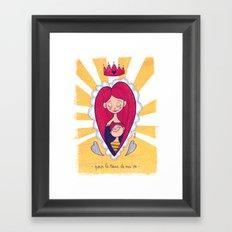 Reine Mère Framed Art Print