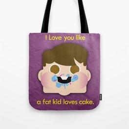Fattycake love Tote Bag