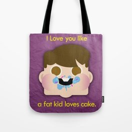 Fattycake love Tote Bag