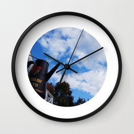 We #LOVE Sky! - Black Creek Pioneer Village, Toronto, ON, Canada Wall Clock