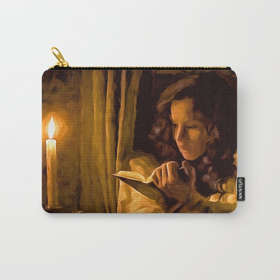A little night reading Carry-All Pouch