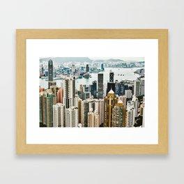Harbour Section Framed Art Print