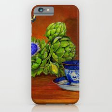 Teacup with Artichokes iPhone 6s Slim Case