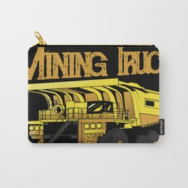 Mining Truck Speed and Power Carry-All Pouch