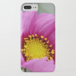 Pink Wildflower iPhone Case
