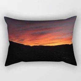 bewitching sunset Rectangular Pillow
