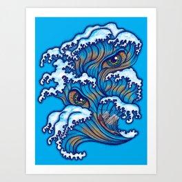 Spirit of the waves Art Print