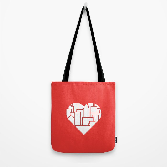 Heart of the City Redux Tote Bag
