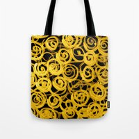 pasta Tote Bags featuring pasta by clemm