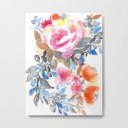 Rosen Bouquet Metal Print
