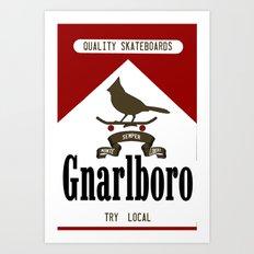 Gnarlboro Art Print