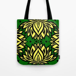 Waterlilies(green background) Tote Bag
