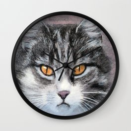 Another Pretty Face Wall Clock