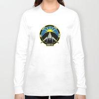 starfox Long Sleeve T-shirts featuring The Lylat Space Academy by John Medbury (LAZY J Studios)
