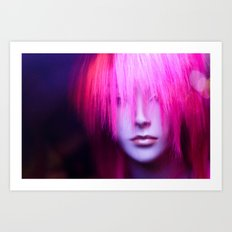 Hollywood Jem Art Print