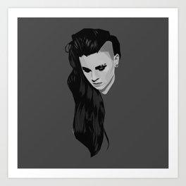 PVRIS - Lynn Gunn Art Print