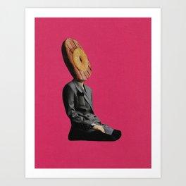Hawaiian Ham Head Art Print