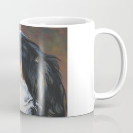 English Setter dog art portrait from an original painting by L.A.Shepard Coffee Mug