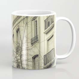 Neoclassical Style Buildings in Buenos Aires, Argentina Coffee Mug