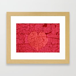 Old Love Remains Beautiful Framed Art Print