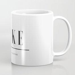 Woke 2 Coffee Mug