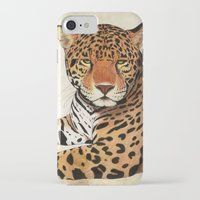 jaguar iPhone & iPod Cases featuring Jaguar by Savousepate