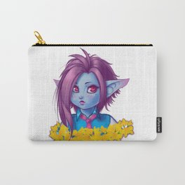 Irreverent Dark Elf Carry-All Pouch
