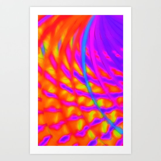 Venus is Hot This Time of Year Art Print