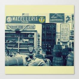 Macelleria Canvas Print