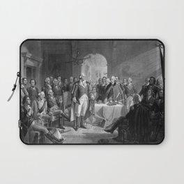 Washington Meeting His Generals Laptop Sleeve