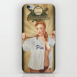 VINTAGE GIRLS - Baseball iPhone Skin