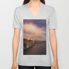The wind of Corse Unisex V-Neck
