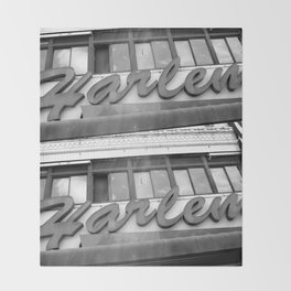 Harlem Throw Blanket