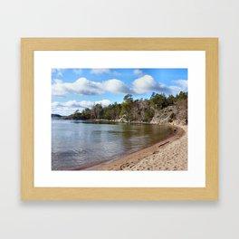 Ingaro Beach Framed Art Print