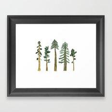 Be Beneath the Trees  Framed Art Print