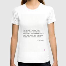 Jim Rohn quote T-shirt