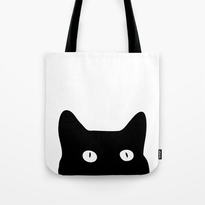 Black Cat Tote Bag