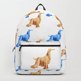 Afghan hound Backpack