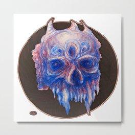 Blue S Metal Print