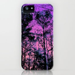 Forest (Sunset) iPhone Case