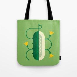 Vegetable: Cucumber Tote Bag